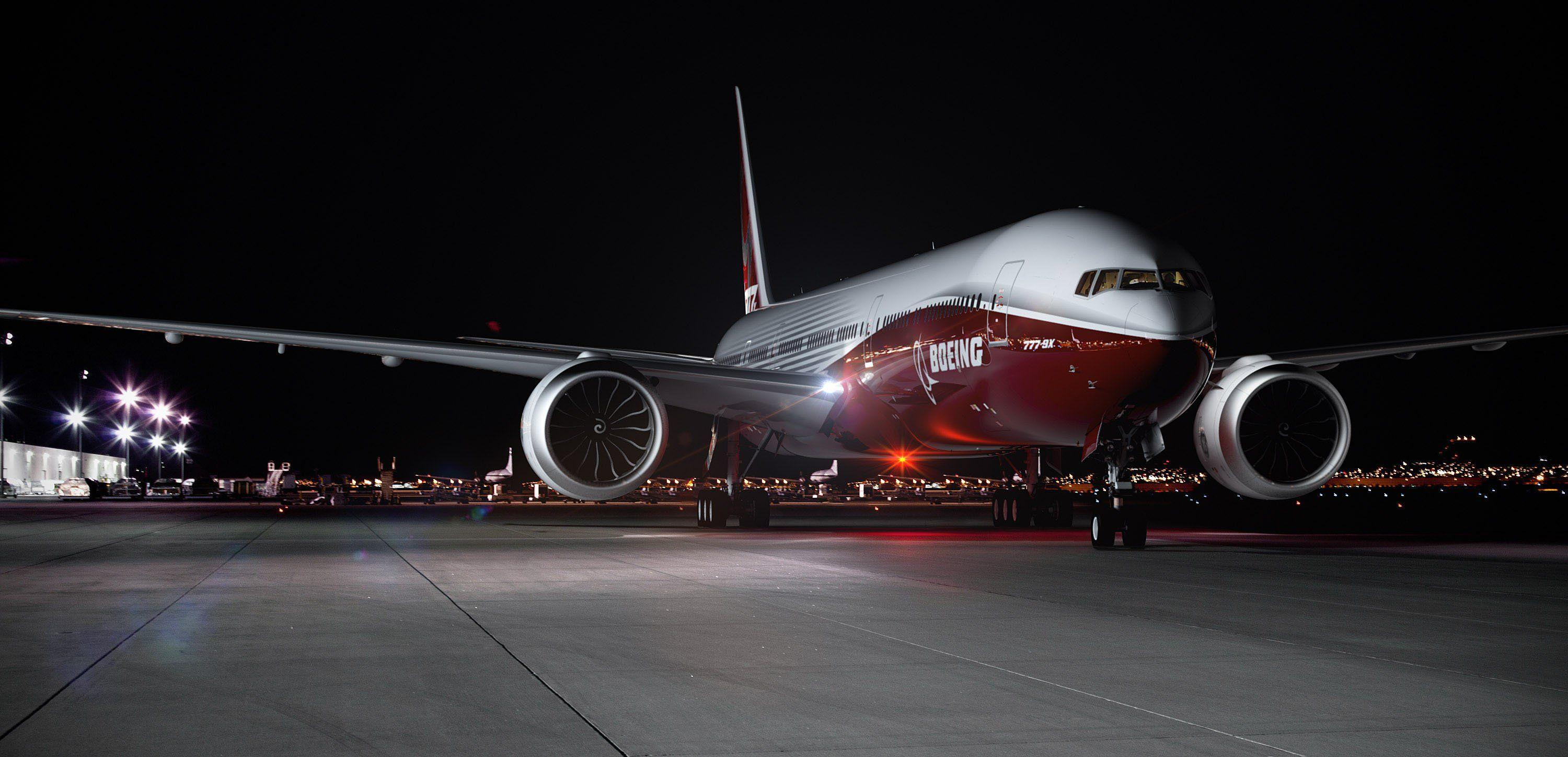 Airplane Boeing: 777X Wallpapers