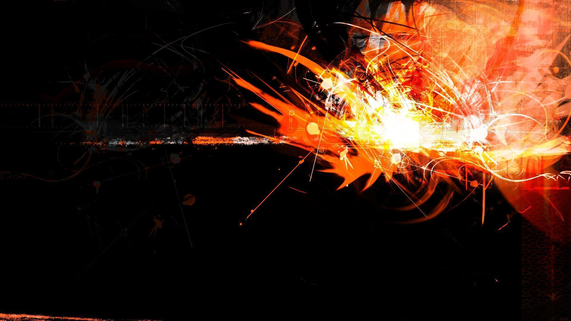Black And Orange Wallpapers