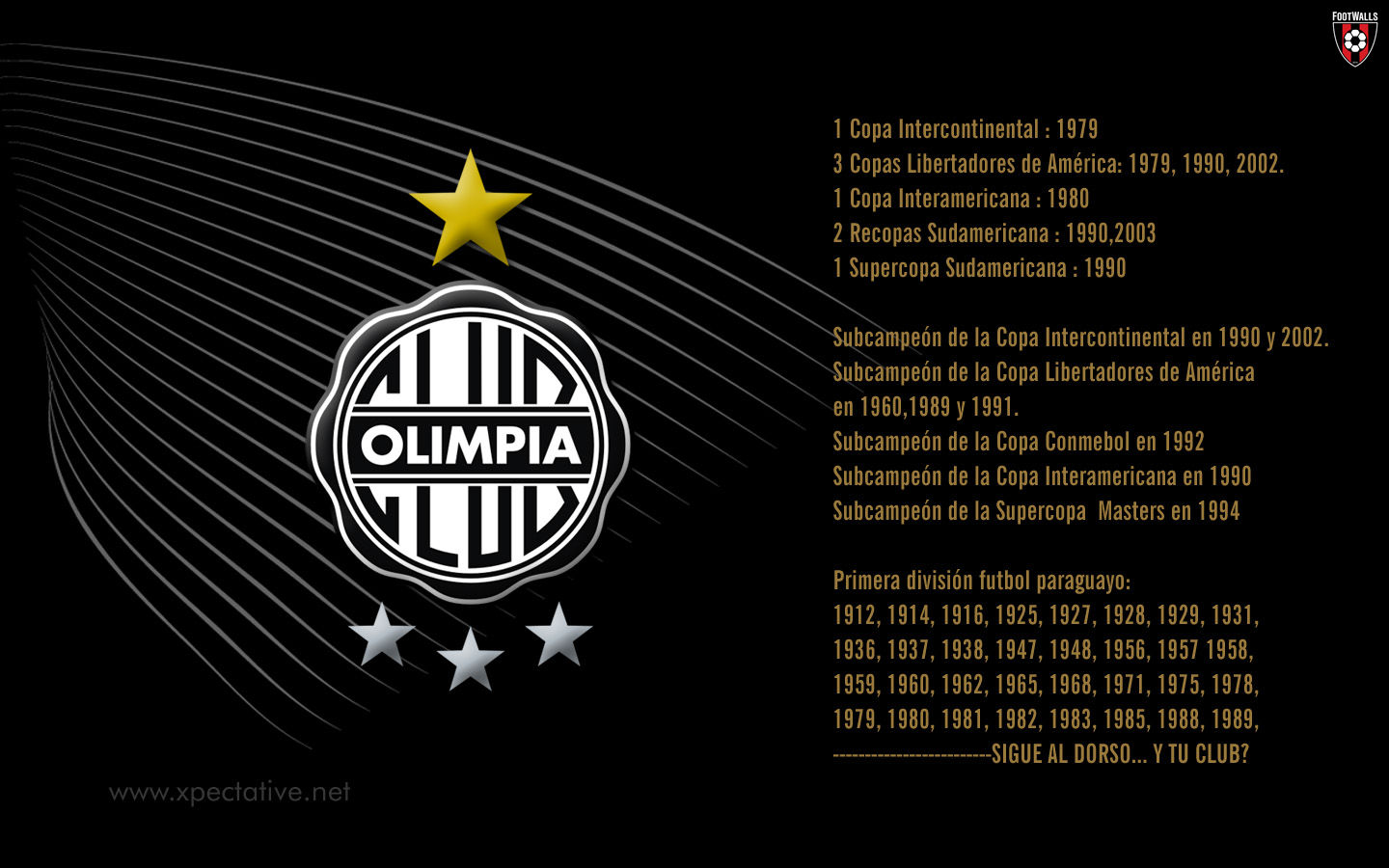 Club Olimpia Wallpapers