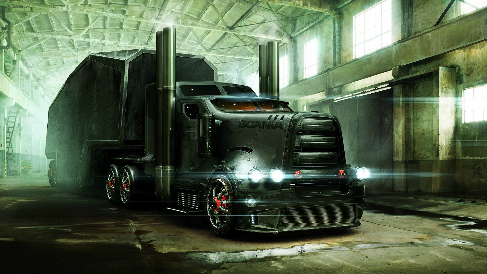 Cool Semi Truck Wallpapers