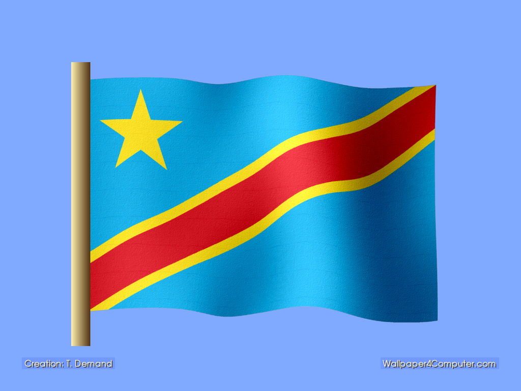 Democratic Republic Of The Congo Flag Wallpapers