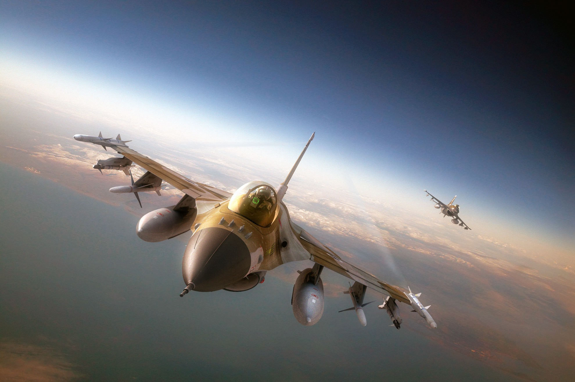 F-16 Wallpapers
