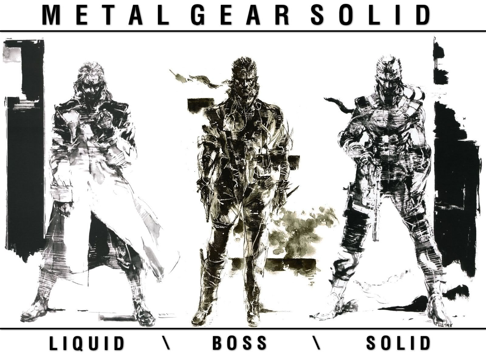 Metal Gear Solid 2: Sons Of Liberty Wallpapers