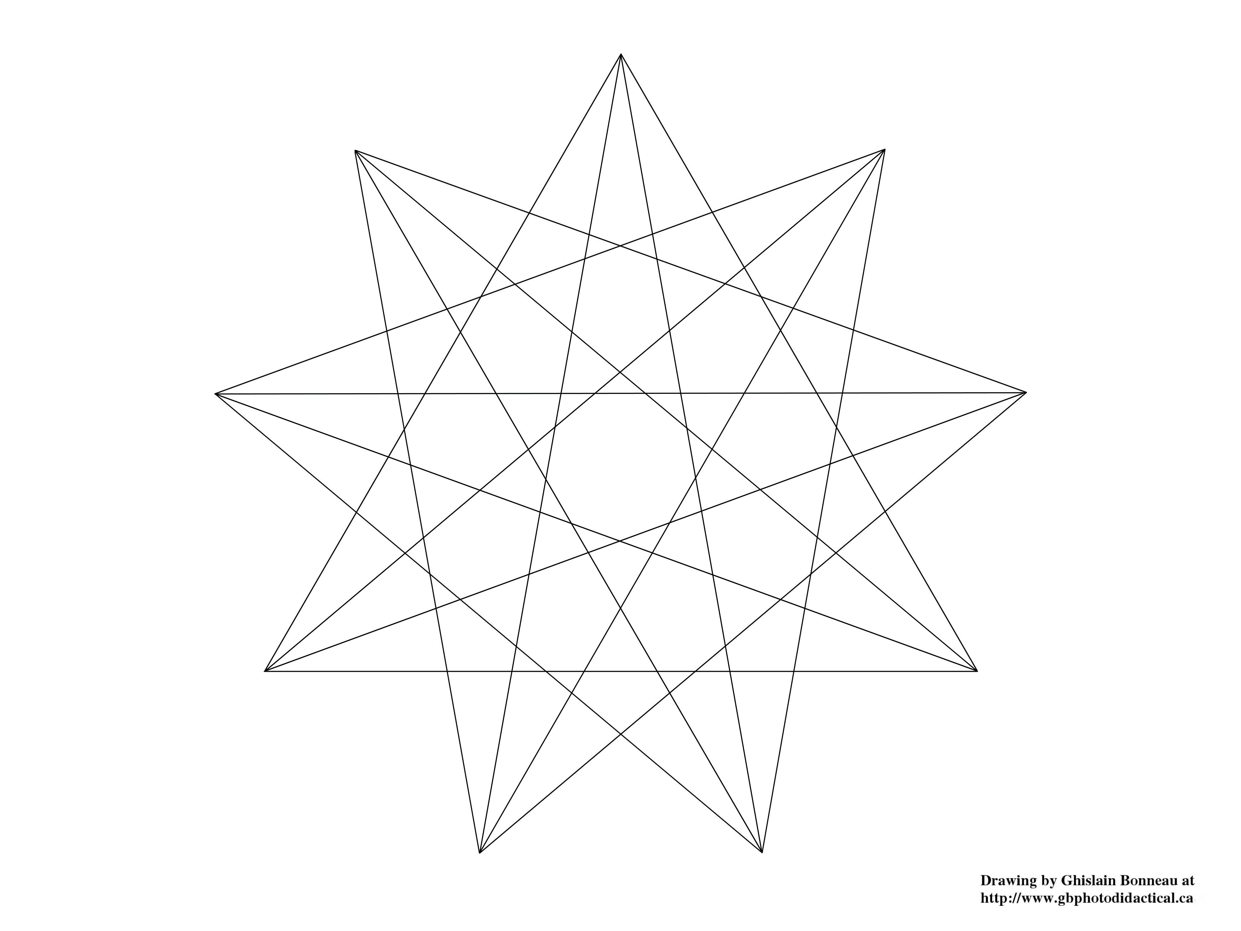 Nine-pointed Star Wallpapers