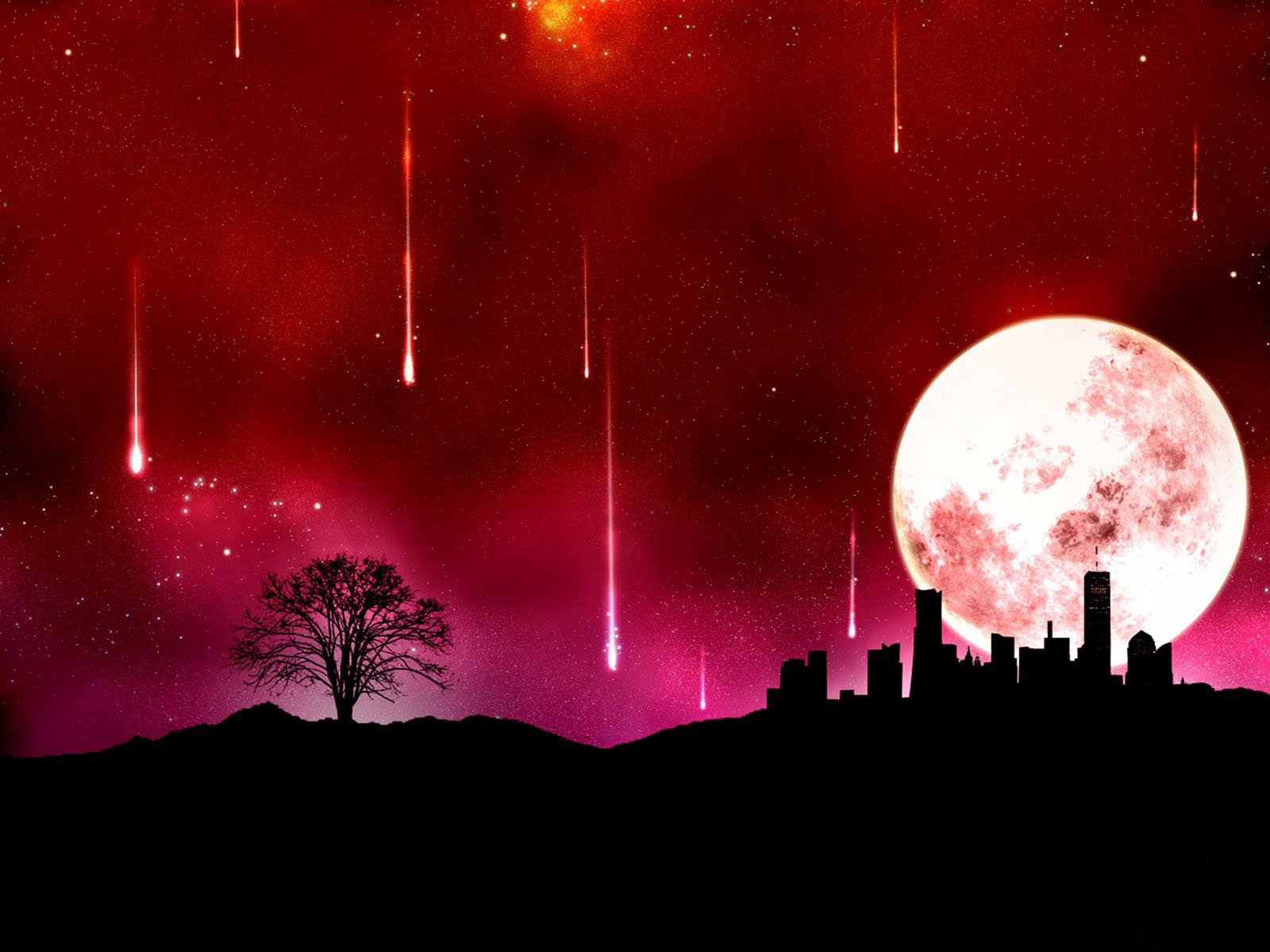 Red Moon Wallpapers