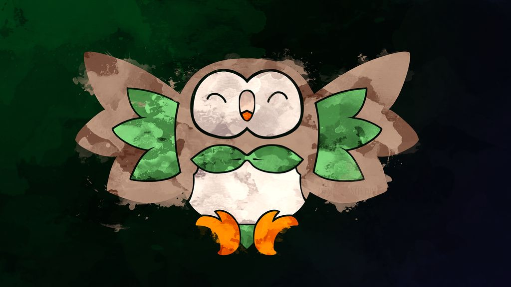 Rowlet Wallpapers