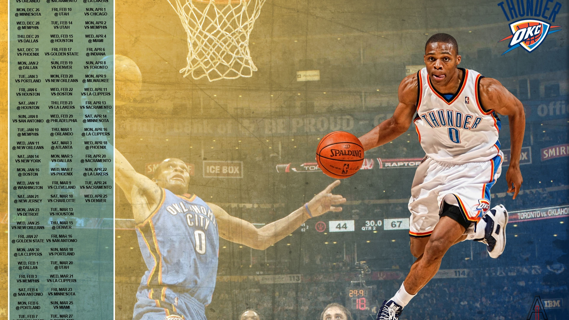 Russell Westbrook Wallpapers
