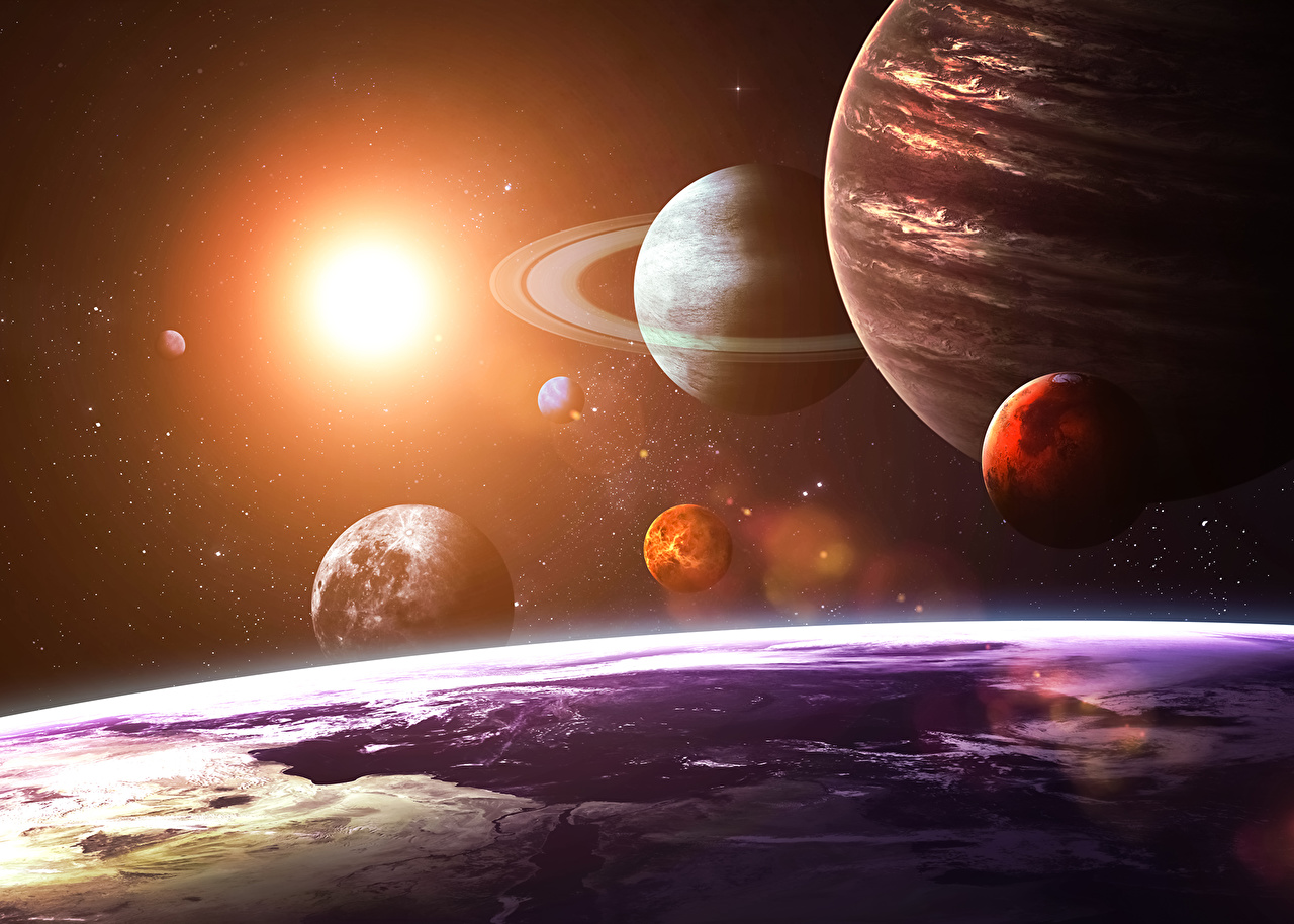 Solar System Wallpapers