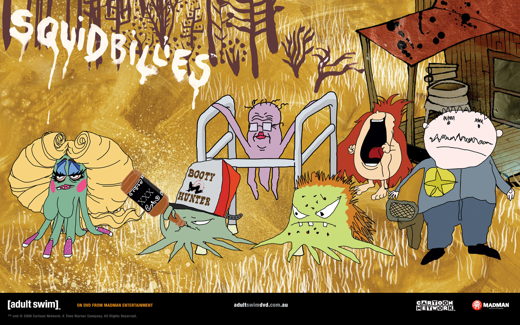 Squidbillies Wallpapers