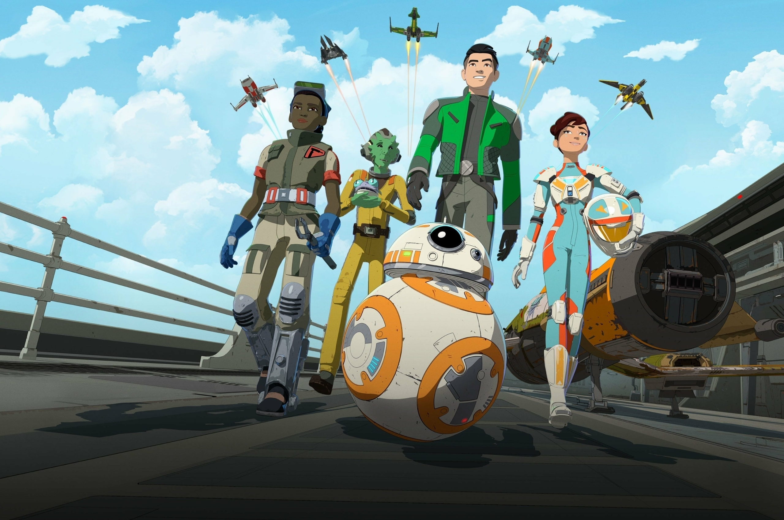 Star Wars Resistance Wallpapers