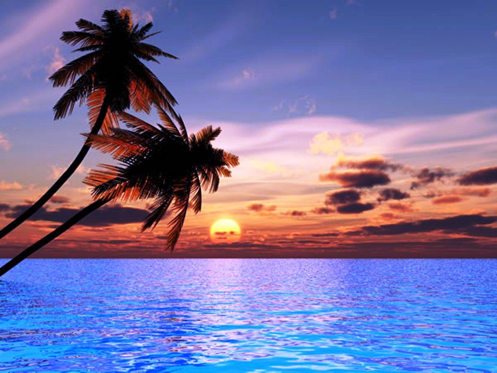 Sunset Beach Wallpapers