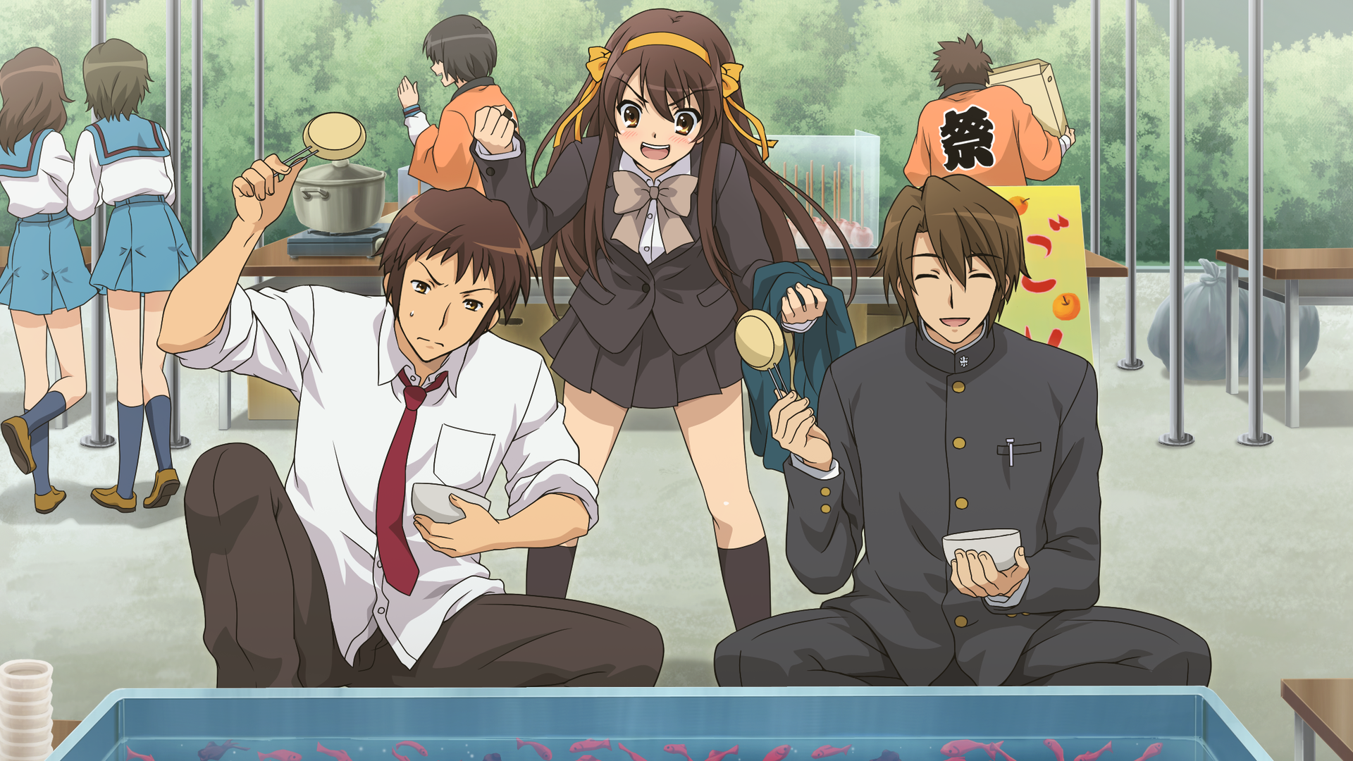The Disappearance Of Haruhi Suzumiya Wallpapers