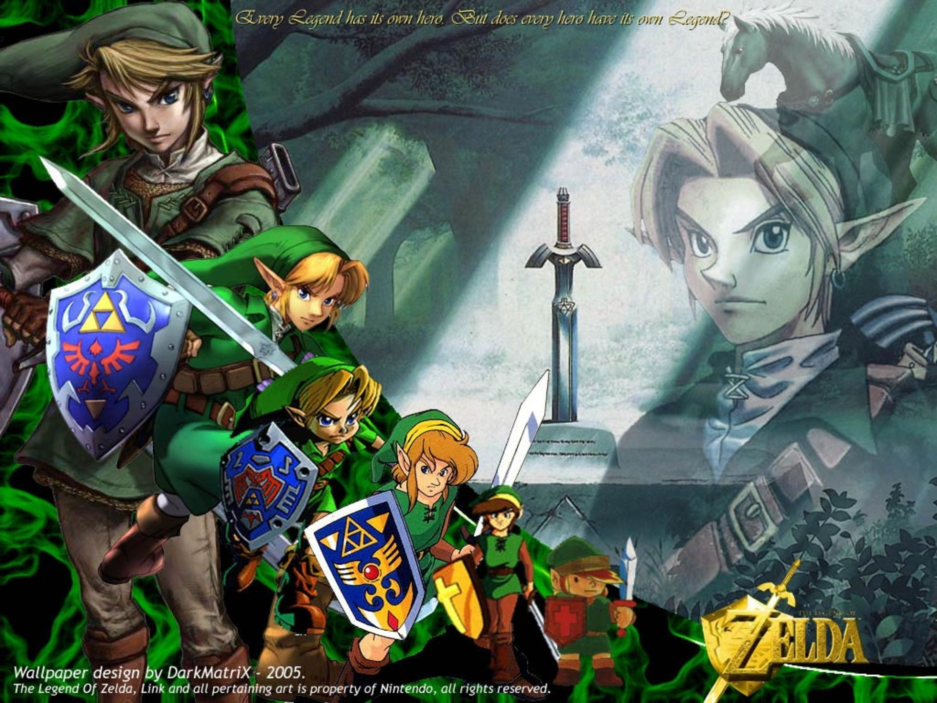 The Legend Of Zelda: A Link To The Past Wallpapers