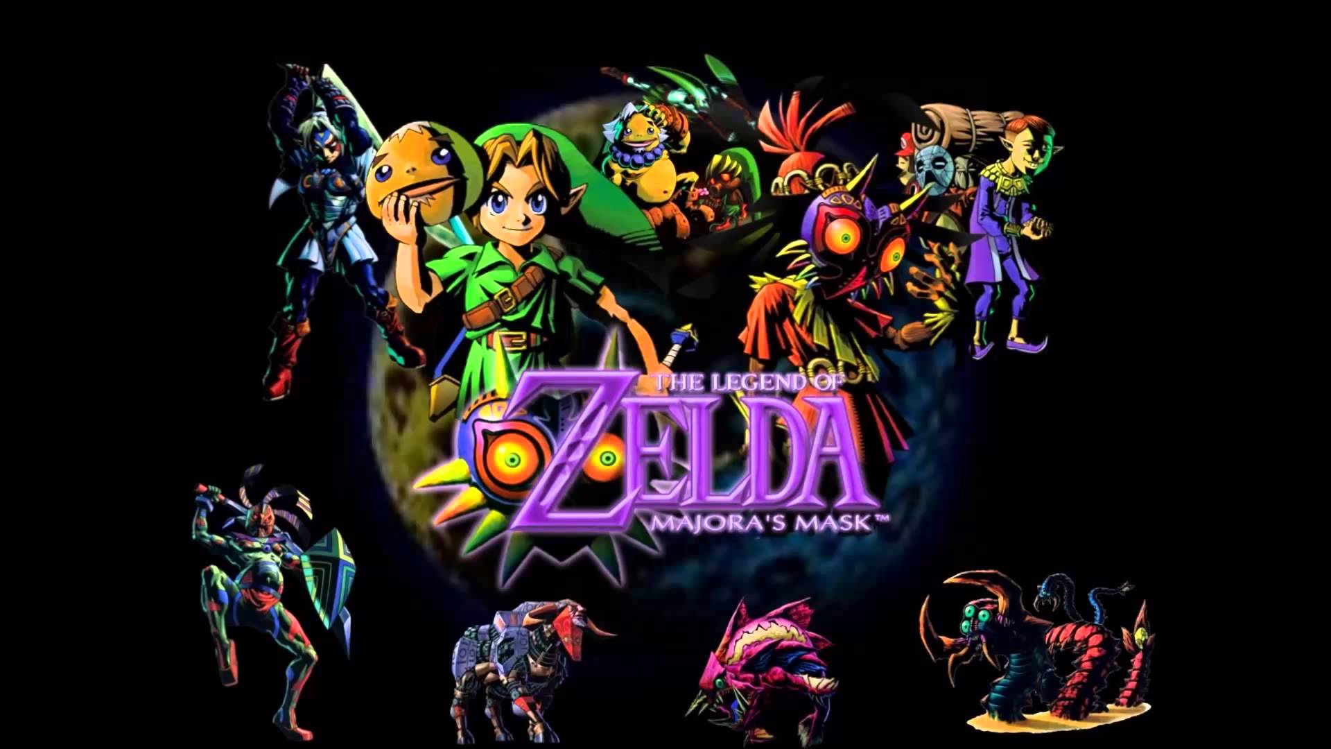 The Legend Of Zelda: Majora's Mask Wallpapers