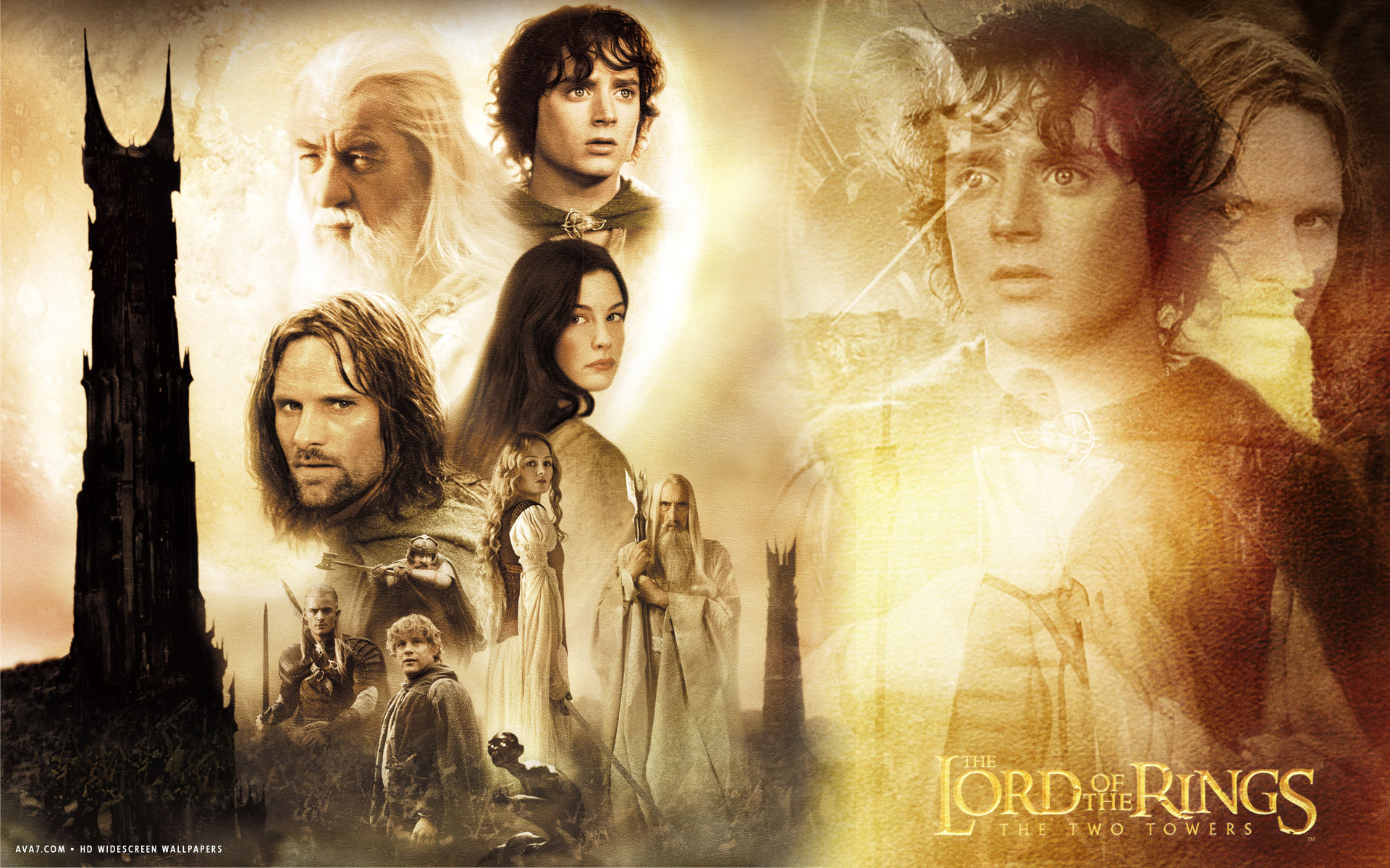 The Lord Of The Rings - The Two Towers Wallpapers
