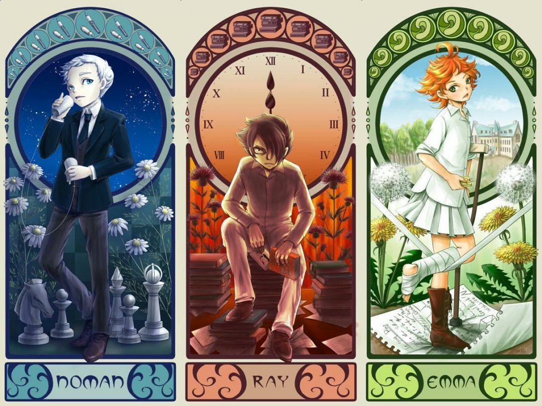 The Promised Neverland Wallpapers