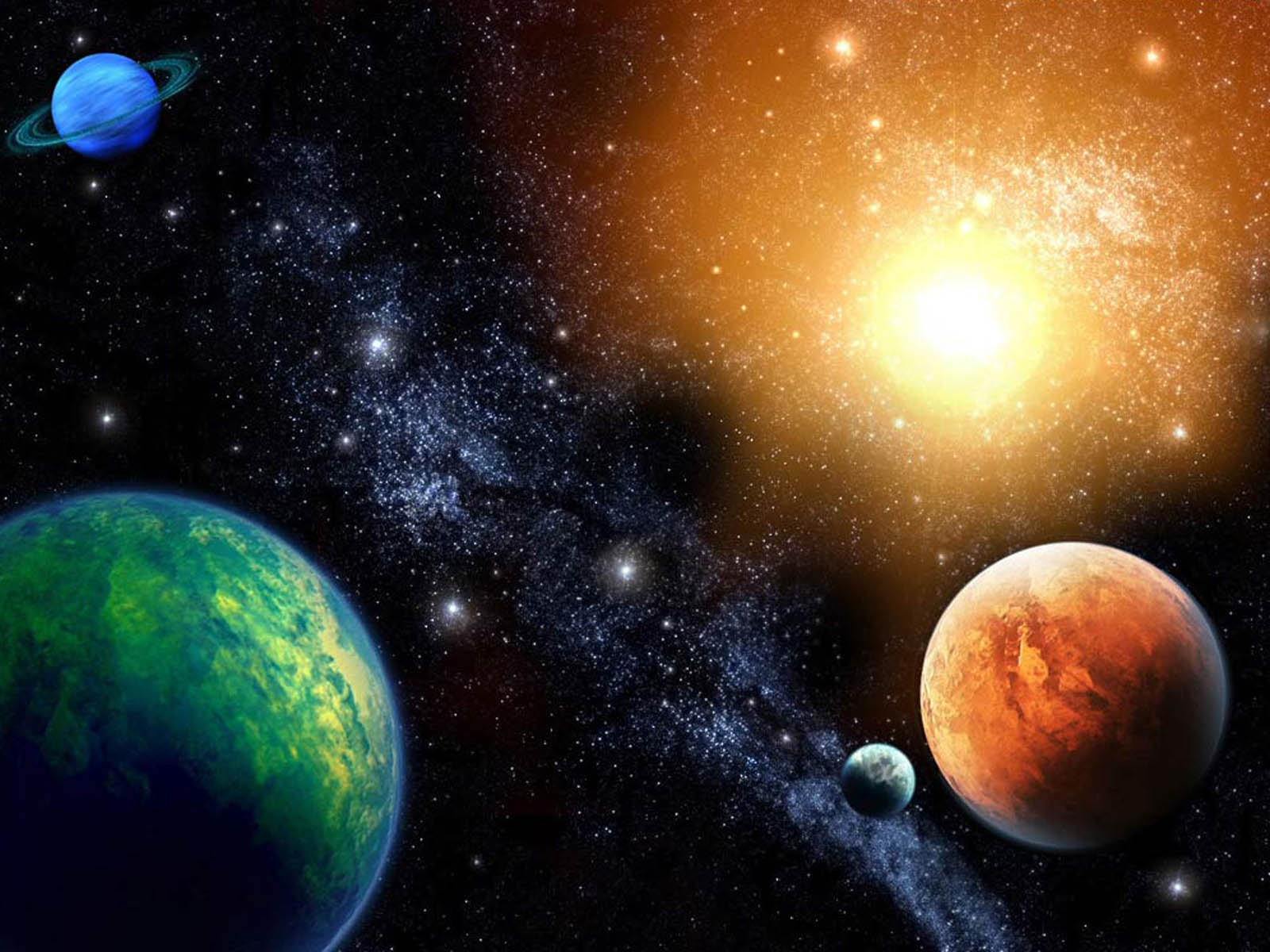 The Solar System Wallpapers