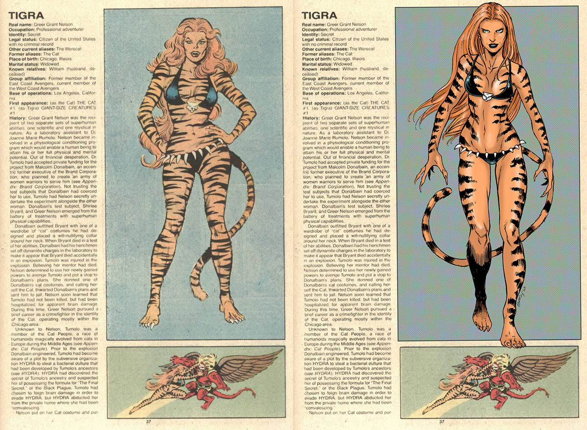 Tigra Marvel Wallpapers