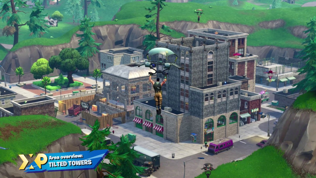 Tilted Towers Wallpapers