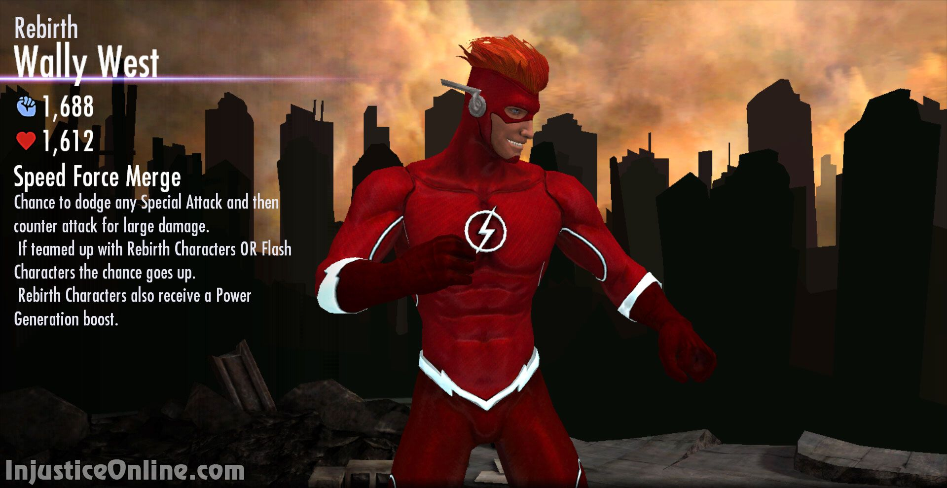 Wally West Wallpapers